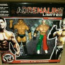 WWE Jakks Pacific Adrenaline Limited Series 9 Batista & Rey Mysterio Action Figure 2 Pack New