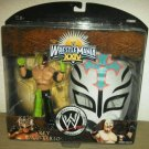 WWE Jakks Road to Wrestlemania 24 XXIV Series 3 Rey Mysterio Action Figure with Mask New