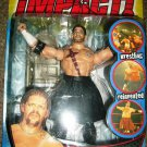 TNA Wrestling Total Nonstop Action Impact Series 3 Raven Action Figure [ Short Hair ] New