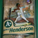 McFarlane MLB Cooperstown Series 8 Oakland Athletics Rickey Henderson #24 Action Figure New