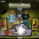 WWE WWF Wrestlemania 2000 Double Slam Series 3 Debra & Stone Cold Action Figure 2-Pack