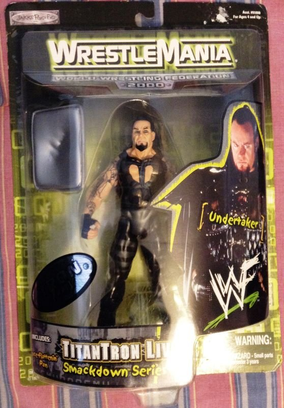 Titantron WWF Wrestlemania 2000 Toys