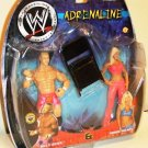WWE Jakks Pacific Adrenaline Series 4 Billy Gunn & Torrie Wilson Action Figure 2-Pack with Chair New