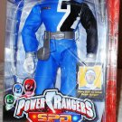 "Bandai Power Rangers 2005 SPD 12"" Talking BLUE Ranger Space Patrol Delta Action Figure New"