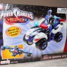 Bandai Power Rangers Blue Delta Morph ATV Vehicle Space Patrol Delta [ Figure NOT Included ] New