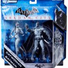 Mattel DC Universe Batman Arkham City Legacy Edition Batman & Catwoman (Black & White) New