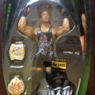 WWE Jakks Limited Exclusive Edition RVD Rob Van Dam Action Figure with 2 Championship Belts New