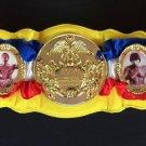 USED WWE Jakks Pacific Rocky Balboa Championship Belt World Title Stallone & Apollo Creed