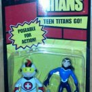 """Bandai Teen Titans 3.5"""" Mas & Aqualad Action Figures New"""
