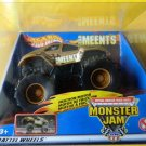 Mattel Hot Wheels Monster Jam Motorized TEAM MEENTS Rev Tredz Truck Scale 1:43 New