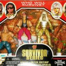 WWE WWF Jakks Survivor Series Special Edition - Shawn Michaels, Bret Hart, Goldust & Warrior