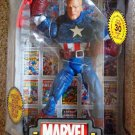 Toy Biz Marvel Legends Icons 12 Inch Series 2 Captain America Action Figure { Unmasked } New