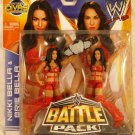 "WWE Mattel ""Bella Twins"" Battle Pack Series 26 Brie Bella & Nikki Bella Action Figure 2-Pack New"