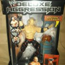 WWE Jakks Pacific Deluxe Aggression Series 2 KANE Action Figure with blasting fire barrel New