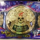 WWF WWE Jakks Pacific Wrestling Stone Cold Steve Austin The Smoking Skull Belt NEW