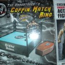 WWE Jakks Pacific Wrestling Coffin Match Ring Playset with Exclusive Undertaker Action Figure New