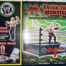 WWE Jakks Pacific Enter the Monster Ring Playset with Exclusive Kane Action Figure New