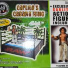 WWE Jakks Pacific Wrestling Carlito's Cabana Ring Playset with Exclusive Carlito Action Figure New