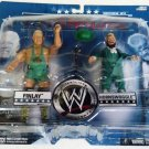 WWE Jakks Pacific Wrestling Adrenaline Series 34 Hornswoggle & Finlay Action Figure 2 Pack NEW