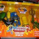 Mattel DC Super Friends Value Pack - Green Lantern, Batman & Aquaman Action Figure 3-pack New