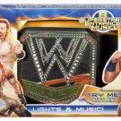 WWE Mattel Wrestling Superstar Entrance Championship Title Lights & Music Belt New