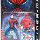 Toy Biz Spider-Man Movie Wrestler SpiderMan Action Figure With Transforming Action New