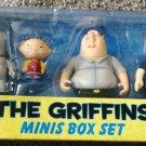 Mezco Family Guy The Griffins Minis Figure Box Set New