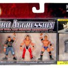 WWE Jakks Micro Aggression Series 9, John Cena, Shawn Michaels & Mr Kennedy Action Figures New