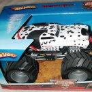 Mattel Hot Wheels Monster Jam 1:24 Scale Die Cast Monster Truck 2007 MONSTER MUTT The Dalmatian NEW