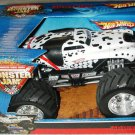 Mattel Hot Wheels Monster Jam 1:24 Scale Die Cast Truck 2006 MONSTER MUTT Dalmatian Chrome Rims