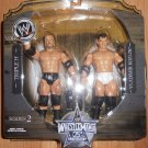 WWE Jakks Wrestlemania 25th Anniversary Series 2 Triple H & Vladimir Kozlov Action Figures New