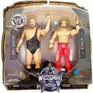 WWE Jakks Pacific Wrestlemania 25th Anniversary Series 3 Big Show & Edge Action Figures New