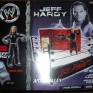 WWE TNA Jakks Pacific Exclusive Jeff Hardy Action Figure Artist Alley Ring Playset NEW