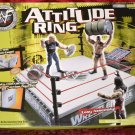 WWF WWE Jakks Pacific Attitude Ring [NO Action Figures or Accessories Included] New