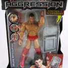 WWE Jakks Pacific DELUXE Aggression Series 16 Nunzio Action Figure with Denting Chair New