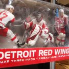 McFarlane NHL Detroit Red Wings 3-Pack Curtis Joseph, Brett Hull & Steve Yzerman [White Jersey] New