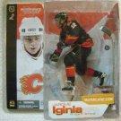 McFarlane NHL Hockey Series 4 Calgary Flames # 12 Jarome Iginla with Black Jersey Action Figure New