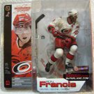 McFarlane NHL Hockey Series 4 Carolina Hurricanes # 4 Ron Francis with White Jersey Action Figure