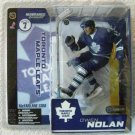 McFarlane NHL Hockey Series 11 Toronto Maple Leafs # 12 Owen Nolan with Blue Jersey Action Figure
