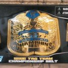 WWE Jakks Pacific Exclusive Tag Team Championship Belt with Deuce & Domino Action Figures New
