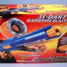 Hasbro Nerf N-Strike Raider Rapid Fire Blasting CS-35 Blue Dart Gun New