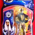WWE Jakks Pacific Ruthless Aggression Series 7.5 Goldust Action Figure with Black Mic New