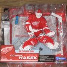 McFarlane NHL Hockey Series 7 Detroid Red Wings # 39 Dominik Hasek with Red Jersey Action Figure