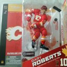 McFarlane NHL Hockey Series 8 Calgary Flames # 10 Gary Roberts with Red Jersey Action Figure