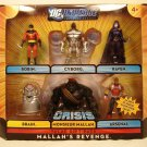Mattel DC Universe Infinite Heroes Crisis Exclusive Mallah's Revenge Action Figure 6-Pack NEW