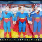 Kenner The History of Superman FAO Schwarz Exclusive 3 Pack Figures New