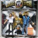 WWE Jakks Pacific Limited  Ringside Triple H & Stephanie McMahon Helmsley 2-Pack Figures New