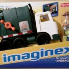 Imaginext Disney Pixar Toy Story Tri-County Sanitation Garbage Truck with Woody & alien New