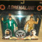 WWE Jakks Adrenaline Series 37 Million Dollar Man and Ted Dibiase Jr. Action Figure 2-Pack