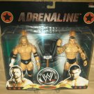 WWE Jakks Pacific Wrestling Adrenaline Series 37 Triple H and Randy Orton Action Figure 2-Pack New